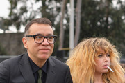 Fred Armisen (L) and Natasha Lyonne attend the 61st Annual GRAMMY Awards at Staples Center on February 10, 2019 in Los Angeles, California.