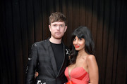 (L-R) James Blake and Jameela Jamil attend the 61st Annual GRAMMY Awards at Staples Center on February 10, 2019 in Los Angeles, California.