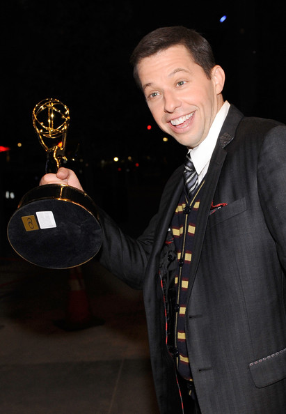 Jon Cryer Actor Jon Cryer backstage at the 61st Primetime Emmy Awards held at the Nokia Theatre on September 20, 2009 in Los Angeles, California.