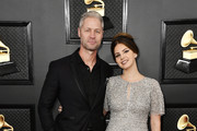 (L-R) Sean 'Sticks' Larkin and Lana Del Rey attend the 62nd Annual GRAMMY Awards at STAPLES Center on January 26, 2020 in Los Angeles, California.