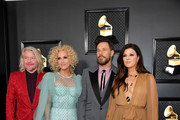 (L-R) Phillip Sweet, Kimberly Schlapman, Jimi Westbrook and Karen Fairchild of Little Big Town attend the 62nd Annual GRAMMY Awards at Staples Center on January 26, 2020 in Los Angeles, California.