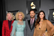 (L-R) Philip Sweet, Kimberly Schlapman, Jimi Westbrook, and Karen Fairchild of Little Big Town attend the 62nd Annual GRAMMY Awards at Staples Center on January 26, 2020 in Los Angeles, California.