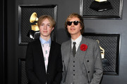 Cosimo Henri (L) and Beck attend the 62nd Annual GRAMMY Awards at Staples Center on January 26, 2020 in Los Angeles, California.