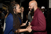 (L-R) Ava DuVernay and Common attend the 62nd Annual GRAMMY Awards at STAPLES Center on January 26, 2020 in Los Angeles, California.