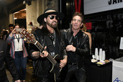 (L-R) Billy Ray Cyrus and Dennis Quaid attend the 62nd Annual GRAMMY Awards at STAPLES Center on January 26, 2020 in Los Angeles, California.