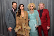 Jimi Westbrook, Karen Fairchild, Kimberly Schlapman and Phillip Sweet of Little Big Town attend the 62nd Annual GRAMMY Awards at STAPLES Center on January 26, 2020 in Los Angeles, California.