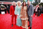 (L-R) Phillip Sweet, Kimberly Schlapman, Karen Fairchild and Jimi Westbrook of Little Big Town attend the 62nd Annual GRAMMY Awards at STAPLES Center on January 26, 2020 in Los Angeles, California.