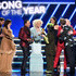 Karen Fairchild Photos - Billie Eilish (3rd from R) and Finneas O'Connell (R) accept the Song of the Year award for 'Bad Guy' from (from L) Jimi Westbrook, Karen Fairchild, Smokey Robinson, Kimberly Schlapman, and Philip Sweet onstage during the 62nd Annual GRAMMY Awards at STAPLES Center on January 26, 2020 in Los Angeles, California. - 62nd Annual GRAMMY Awards - Show