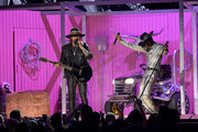 (L-R) Billy Ray Cyrus and  Lil Nas X perform onstage during the 62nd Annual GRAMMY Awards at Staples Center on January 26, 2020 in Los Angeles, California.