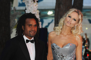 Adriana Karembeu Christian Karembeu 62nd Red Cross Ball In Monte Carlo