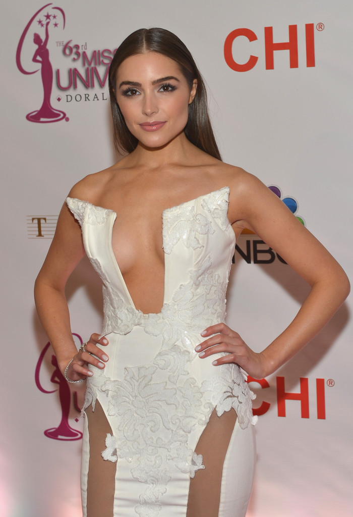 Olivia Culpo Pictures - The 63rd Annual Miss Universe Pageant Red ...