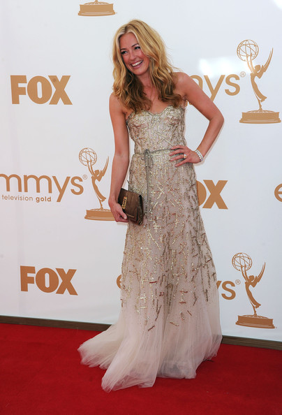 TV personality Cat Deeley arrives at the 63rd Annual Primetime Emmy Awards held at Nokia Theatre L.A. LIVE on September 18, 2011 in Los Angeles, California.