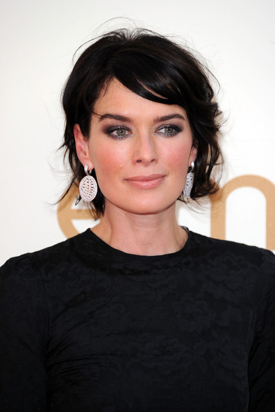 Actress Lena Headey arrives at the 63rd Annual Primetime Emmy Awards held at Nokia Theatre L.A. LIVE on September 18, 2011 in Los Angeles, California.