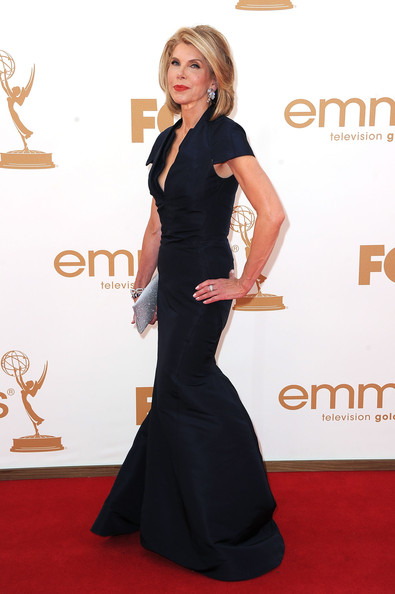 Actress Christine Baranski arrives at the 63rd Annual Primetime Emmy Awards held at Nokia Theatre L.A. LIVE on September 18, 2011 in Los Angeles, California.