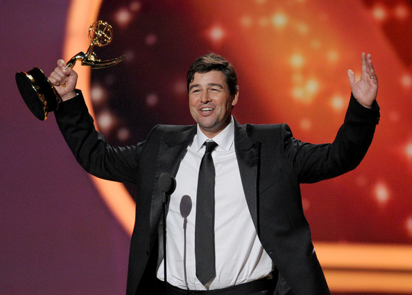 Actor Kyle Chandler accepts the Outstanding Lead Actor in a Drama Series award onstage during the 63rd Annual Primetime Emmy Awards held at Nokia Theatre L.A. LIVE on September 18, 2011 in Los Angeles, California.