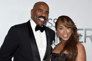Steve Harvey and Marjorie Bridges-Woods Photos Photo