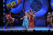 Cast of Fela perfoms onstage during the 64th Annual Tony Awards at Radio City Music Hall on June 13, 2010 in New York City.