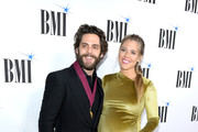 Thomas Rhett and Lauren Akins attend the 67th Annual BMI Country Awards at BMI on November 12, 2019 in Nashville, Tennessee.