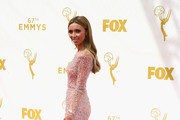 TV personality Giuliana Rancic attends the 67th Annual Primetime Emmy Awards at Microsoft Theater on September 20, 2015 in Los Angeles, California.