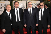 (L-R) Actors  C.S. Lee, Desmond Harrington, David Zayas and James Remar arrives at the 68th Annual Golden Globe Awards held at The Beverly Hilton hotel on January 16, 2011 in Beverly Hills, California.