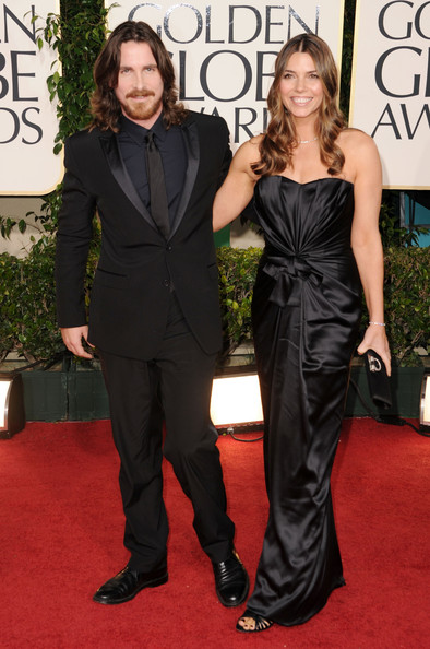 Actor Christian Bale (L) and Sibi Blazic arrive at the 68th Annual Golden Globe Awards held at The Beverly Hilton hotel on January 16, 2011 in Beverly Hills, California.