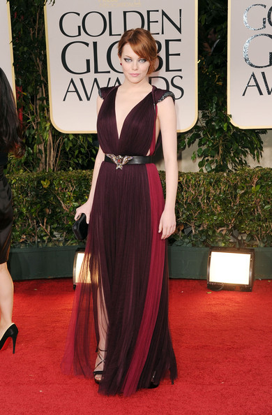 Emma+Stone in 69th Annual Golden Globe Awards - Arrivals