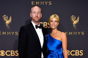 Actors Matt Walsh (L) and Morgan Walsh attend the 69th Annual Primetime Emmy Awards at Microsoft Theater on September 17, 2017 in Los Angeles, California.