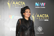 Miranda Tapsell arrives ahead of the 6th AACTA Awards Presented by Foxtel at The Star on December 7, 2016 in Sydney, Australia.