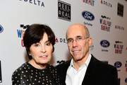 Marilyn Katzenberg (L) and Jeffrey Katzenberg at the 6th Annual Reel Stories, Real Lives event benefiting MPTF at Milk Studios on November 2, 2017 in Hollywood, California.