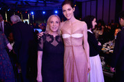 Filmmaker Susan Rockefeller (L) and model Hilary Rhoda attend the 70th Annual Parsons Benefit on May 21, 2018 in New York City.
