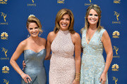 (L-R) Natalie Morales, Hoda Kotb, and Savannah Guthrie attend the 70th Emmy Awards at Microsoft Theater on September 17, 2018 in Los Angeles, California.