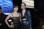 (L-R) Linda Cardellini and Sarah Paulson the 71st Annual Directors Guild Of America Awards at The Ray Dolby Ballroom at Hollywood & Highland Center on February 02, 2019 in Hollywood, California.