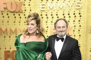 (L-R) Caroline Aaron and Kevin Pollak attend the 71st Emmy Awards at Microsoft Theater on September 22, 2019 in Los Angeles, California.