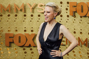 Image has been edited using digital filters) Kate McKinnon arrives at the 71st Emmy Awards at Microsoft Theater on September 22, 2019 in Los Angeles, California.