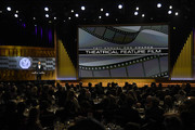 Leonardo DiCaprio speaks onstage during the 72nd Annual Directors Guild Of America Awards at The Ritz Carlton on January 25, 2020 in Los Angeles, California.