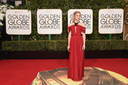Actress Natalie Dormer attends the 73rd Annual Golden Globe Awards held at the Beverly Hilton Hotel on January 10, 2016 in Beverly Hills, California.