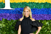 Kristin Chenoweth attends the 73rd Annual Tony Awards at Radio City Music Hall on June 09, 2019 in New York City.
