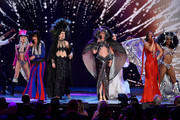 The cast of The Cher Show performs onstage during the 2019 Tony Awards at Radio City Music Hall on June 9, 2019 in New York City.