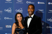 Ayshen Kemal and Simon Webbe attend the 75th Anniversary Dambusters dinner at Plaisters Hall on September 28, 2017 in London, England.