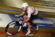 Mark Cavendish of Great Britain and Team John Saey - Callant in action during the final day of the 76th 6 Days of Gent race at t'Kuipke Track Velodrome on November 20, 2016 in Gent, Belgium.