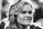 Image has been converted to black and white.) Missi Pyle attends the 76th Annual Golden Globe Awards at The Beverly Hilton Hotel on January 6, 2019 in Beverly Hills, California.