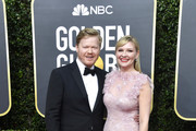 (L-R) Jesse Plemons and Kirsten Dunst attend the 77th Annual Golden Globe Awards at The Beverly Hilton Hotel on January 05, 2020 in Beverly Hills, California.