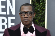 Wesley Snipes attends the 77th Annual Golden Globe Awards at The Beverly Hilton Hotel on January 05, 2020 in Beverly Hills, California.