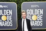 Portia de Rossi attends the 77th Annual Golden Globe Awards at The Beverly Hilton Hotel on January 05, 2020 in Beverly Hills, California.