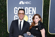 Fred Armisen (L) and Natasha Lyonne attend the 77th Annual Golden Globe Awards at The Beverly Hilton Hotel on January 05, 2020 in Beverly Hills, California.