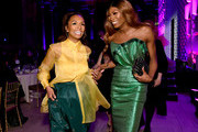 Janet Mock and Dominique Jackson attend the 78th Annual Peabody Awards Ceremony Sponsored By Mercedes-Benz at Cipriani Wall Street on May 18, 2019 in New York City.