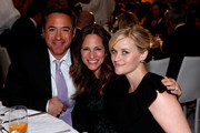 (L-R) Actor Robert Downey Jr., producer Susan Downey and honoree Reese Witherspoon attend the 7th Annual March of Dimes Celebration of Babies, a Hollywood Luncheon, at the Beverly Hills Hotel on December 7, 2012 in Beverly Hills, California.