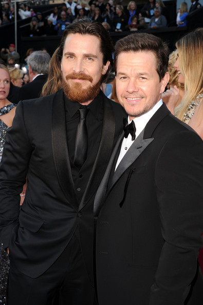 Actor Christian Bale (L) and actor/producer Mark Wahlberg arrives at the 83rd Annual Academy Awards held at the Kodak Theatre on February 27, 2011 in Hollywood, California.