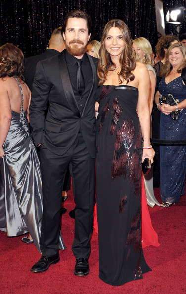 Actor Christian Bale and wife Sibi Bale arrive at the 83rd Annual Academy Awards held at the Kodak Theatre on February 27, 2011 in Hollywood, California.