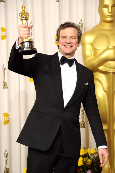 Actor Colin Firth, winner of the award for Best Actor in a Leading Role for 'The King's Speech', poses in the press room during the 83rd Annual Academy Awards held at the Kodak Theatre on February 27, 2011 in Hollywood, California.